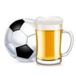 football-beer