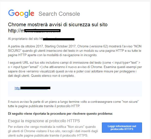https come fattore di ranking
